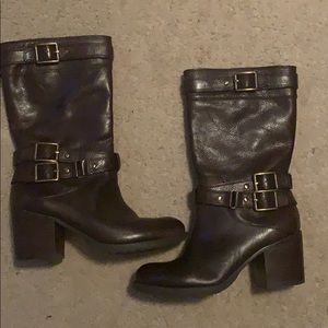 Jessica Simpson heeled boots size 9